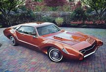 My fav car / The first generation Toronado cars by Oldsmobile are my favorite cars of all spanning from 1966 to 1970.  Mine happens to be a 1967