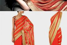 Aishwarya Rai Peach Color Bollywood Style Saree / Bollywood celebrities have given a new dimension to the Indian sarees giving a whole new range of variety to shoppers. Sarees worn by Bollywood celebrities have became the latest trend setters for style statement of Indian women. Indian ladies love to flaunt and look stunning in Sarees just like Bollywood celebrities. Add glam to your persona with this striking saree.