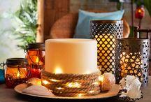 Candle Décor Ideas
