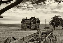 Old Wooden Structures / by Bill and Stephanie Norman