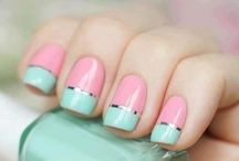 Nail designs, tips and tricks / by stephanie