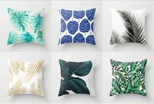 home decor + accessories... pillows + knicknacks