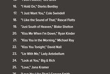 Yabancı müzik listelerim