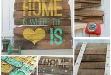 Signs / Artsy decor signs for home or special events / by Eryka Agnes