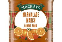 #mackaysmarmalademarch / Celebrating all things marmalade throughout March.  Some great recipe ideas from our favourite food bloggers, incorporating Mackays marmalade.