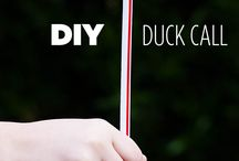 Duck week craft- ducklahoma