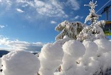 Seilbahn Texelbahn im Winter
