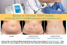 The Body Sculpting Studio Events / Freeze away your unwanted fat with CoolSculpting. Follow us to learn about fun Cool Events where you can learn about CoolSculpting, get special discounts, and win free treatment sessions from The Body Sculpting Studio. Book your Free consultation today at (818) 336-4377.