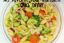 Quick dinners / by Melissa Minerd