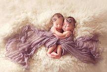 newborn - twin girls