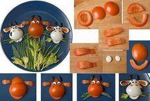 Yiyecek tasarımları