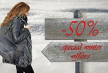 Winter offers -50%
