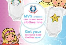 MVS Baby Clothing / Baby Clothing with Animation Characters!