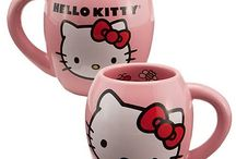 Hello kitty coffee cups / by Kitty White