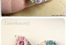 Crochet Brooch and flower