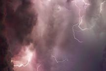 Lightning storms around the world
