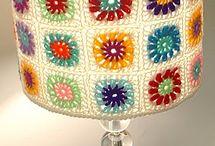 horgolt lámpaburák