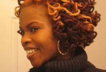 Loc styles / Locs  / by Alicia Rodgers