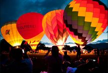 Hot Air Balloons Over New England