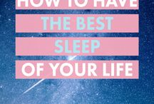 Sleep / wake with the sun and sleep with the moon