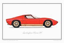 Lamborghini Miura / My dream car....