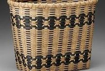 Traditional Baskets / So much more than just over and under.  Basket inspiration from everywhere.