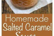 salted caramel sause