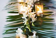 Bali Hai Inspiration / Fun and unique wedding decorations to match our Bali Hai inspired wedding venue