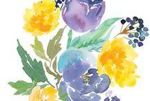 flowerletteering