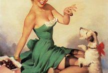 1950's pin-up girls