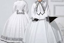 Historical (reproduction) sewing patterns