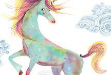 I Love Unicorns / by Violett.007