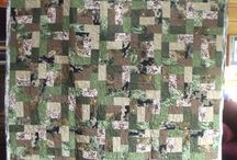 Quilt for boy / Camo / by Megan Smith Stuck