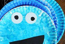 Parker's Cookie Monster Party Ideas