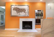 Fireplace Surrounds / Custom fireplace surrounds