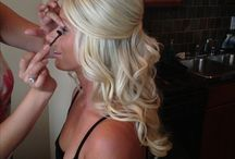 Formal hair and makeup