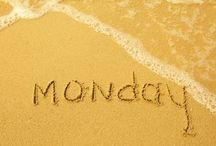 Sandy Monday / It's Monday, oh well... At least we are on the beach :)