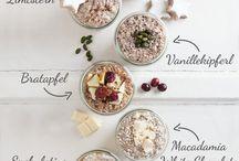 overnight oats und porridge