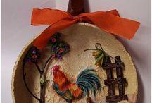 sartenes decorados