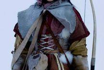 Costumes. North