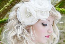 Flower Fascinators and Wedding Headpieces / A selection of beautiful flower fascinators and wedding headpieces - perfect for all events