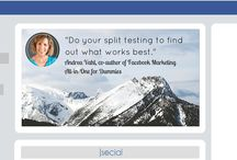Facebook Tips / Tips, tricks, insights to improve your Facebook marketing