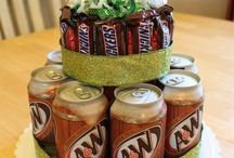 B-day crafts/ideas / by Karen Tondevold
