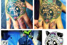 Nerdymatch ink / Marco & Loredana's Tattoo work
