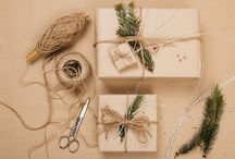 Unique Gift Wrapping Ideas and Perfectly Presented Presents / gifts wrapped to perfection. Creative ways to wrap gifts and beautiful presentations for all types of presents
