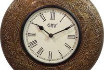 Wall Clocks / Buy Wall Clock Online, Shopping For Analog, Antique, Pendulum, Seiko, Wooden, Quartz, Decorative, Digital, Designer Wall Clocks, Clock For Desktop and Much More. http://www.chokhi.com/decor/wall-arts/wall-clock.html