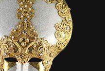 Macrame Lace Venetian  Masks