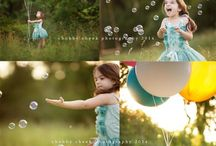 Дети, фотосессия на природе