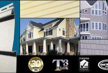 Ideas For Your Home's Exterior / Exterior Siding Stucco Soffit Facia And Window Trims.