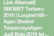 LINK ATERNATIF SBOBET TERBARU 2016